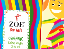 Zoe for Kids Olive Oil